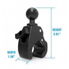 """Heavy Duty Medium Tough-Claw™  with 1.5"""" Diameter Solid Rubber Ball"""